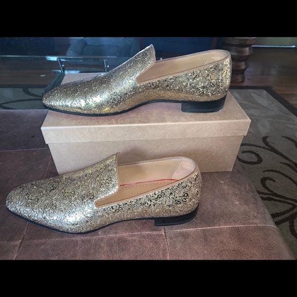 promo code 97936 0b8f7 Christian Louboutin Men Dandelions Glitter Loafer